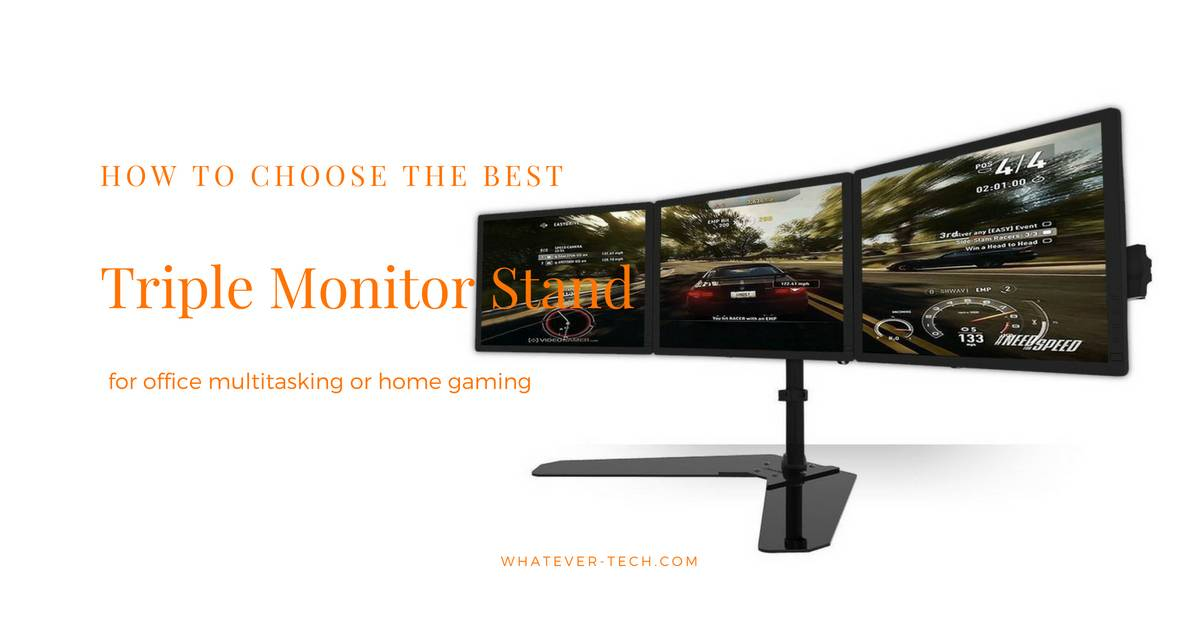 Best Triple Monitor Stand 2018