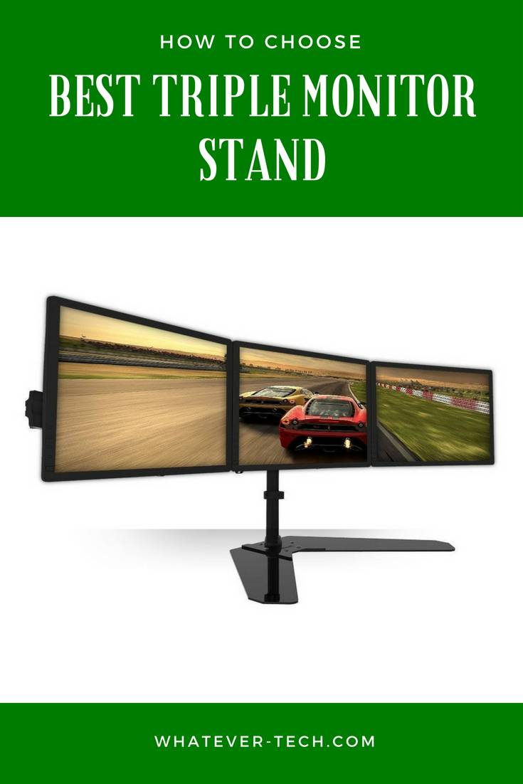 Best Triple Monitor Stand 201
