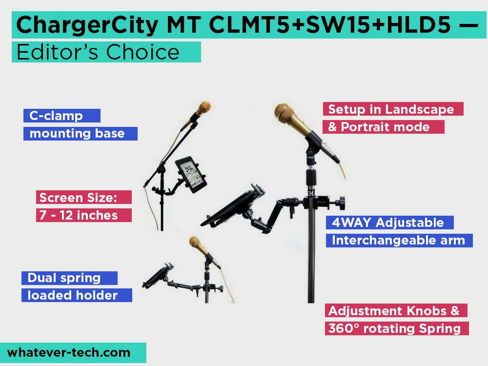 ChargerCity MT CLMT5+SW15+HLD5 Review, Pros and Cons. Check our Editor's Choice 2018