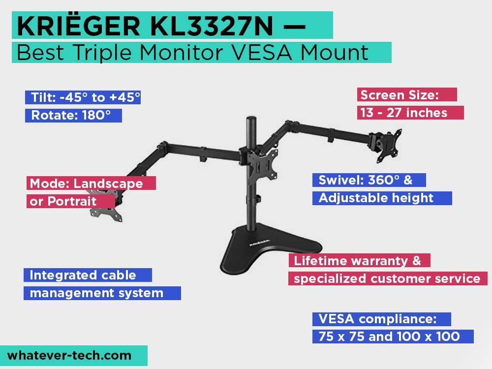 TOP 5 Best VESA Mounts Monitor Stands Reviews [September