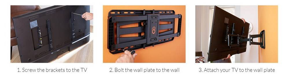 How to choose full motion TV wall mount // Full motion TV wall mount buyer's guide