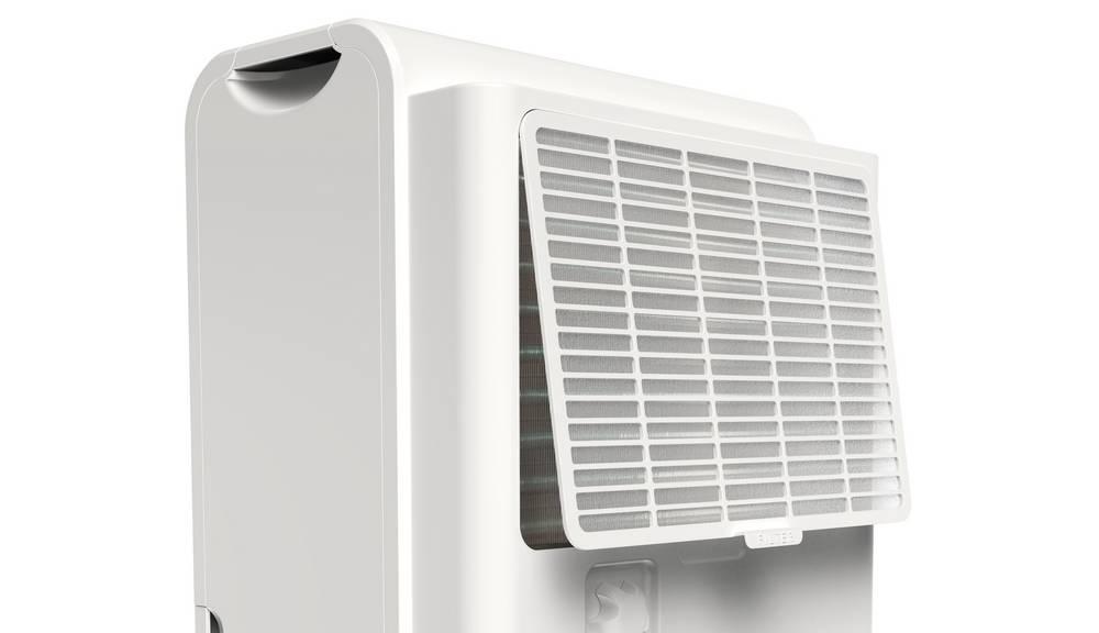 hOmeLabs Dehumidifier has an air filter