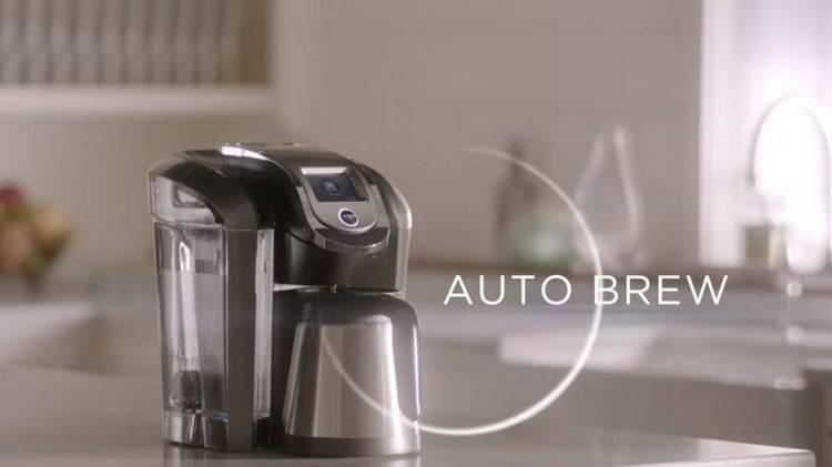 Keurig K525 has Auto Brew