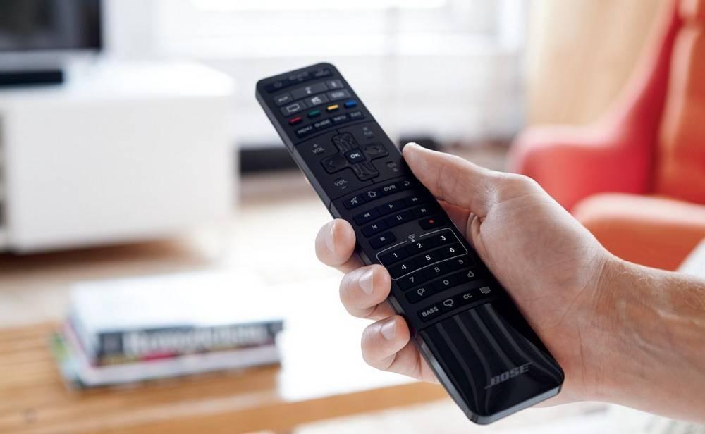 Bose Soundbar has remote control