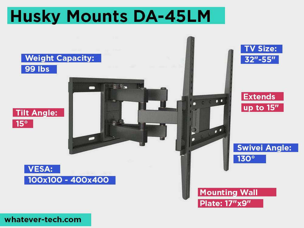Husky Mounts DA-45LM Revie, Pros and Cons.