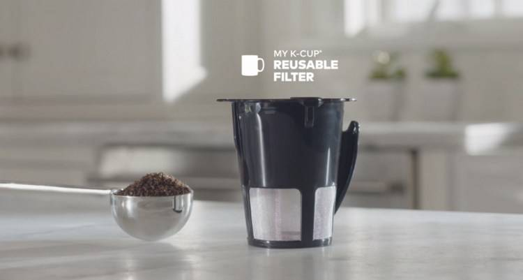 You can use replacement refillable K Cup coffee filters