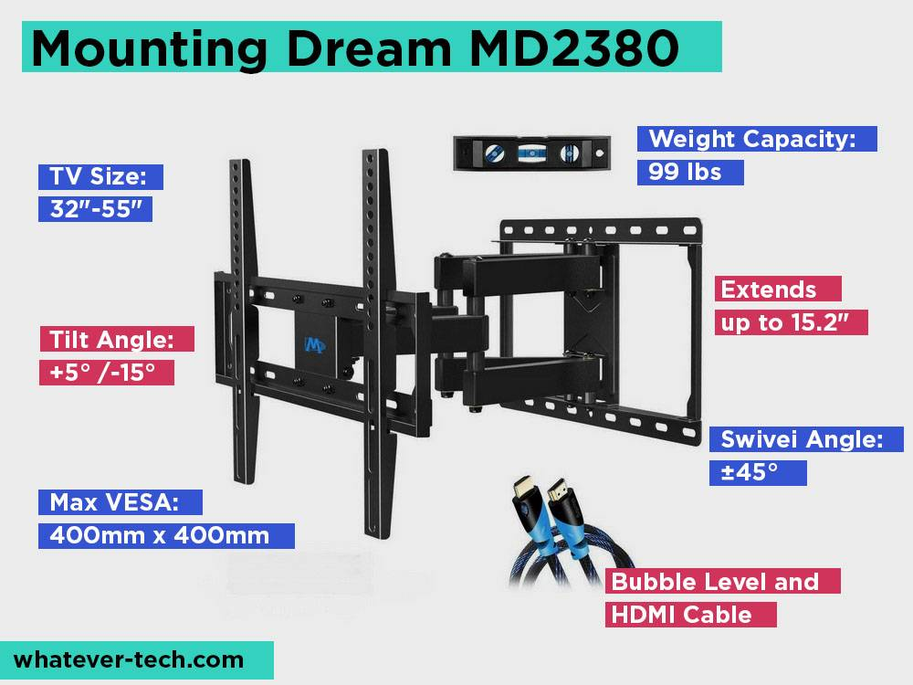 Mounting Dream MD2380 Review, Pros and Cons.