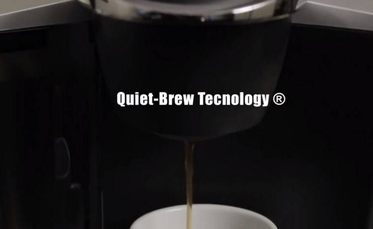 Keurig B60 has Quiet-Brew technology