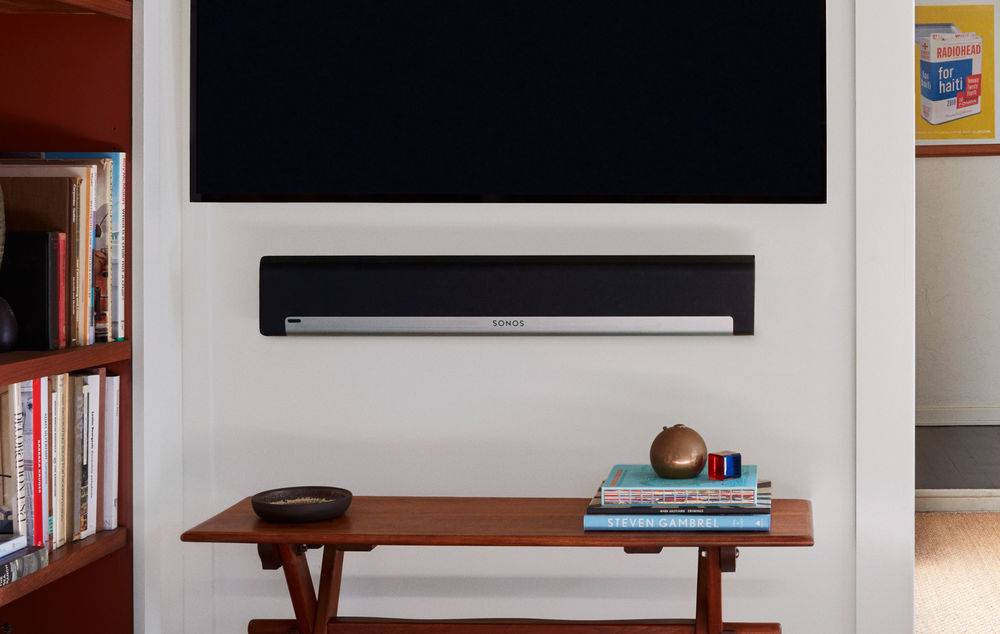 Sonos Playbar can hung on a wall