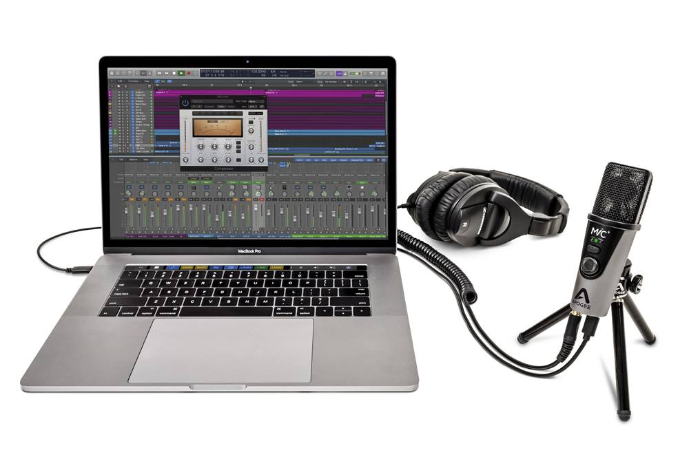 Apogee MiC Plus is the best USB recording microphone