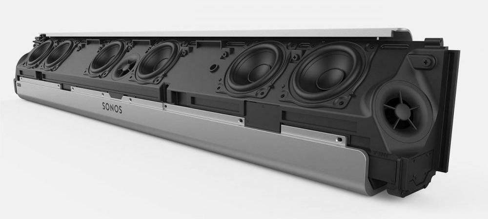 Sonos Playbar holds nine different speakers