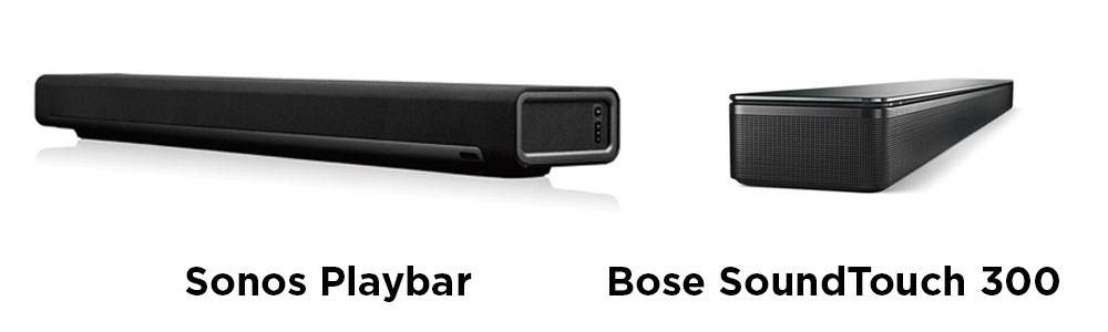 Bose SoundTouch 300 vs Sonos Playbar - Style and Decor