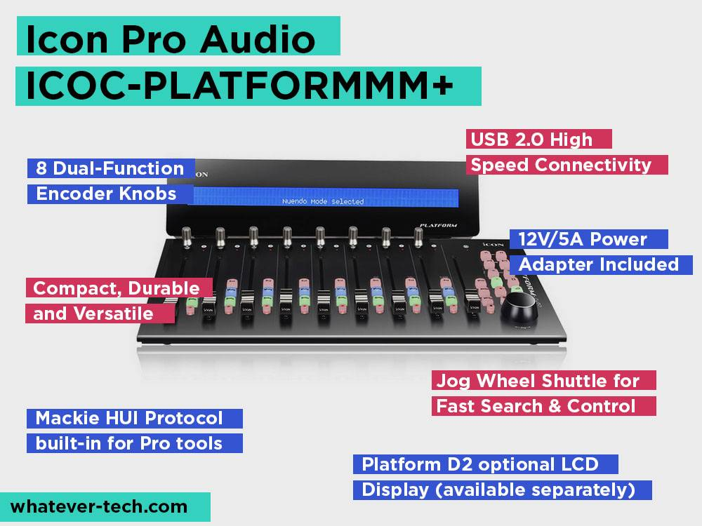 Icon Pro Audio ICOC-PLATFORMMM+ Review, Pros and Cons.
