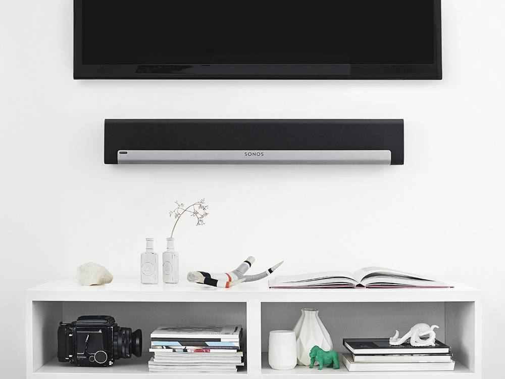 Sonos Playbar mountes on walls