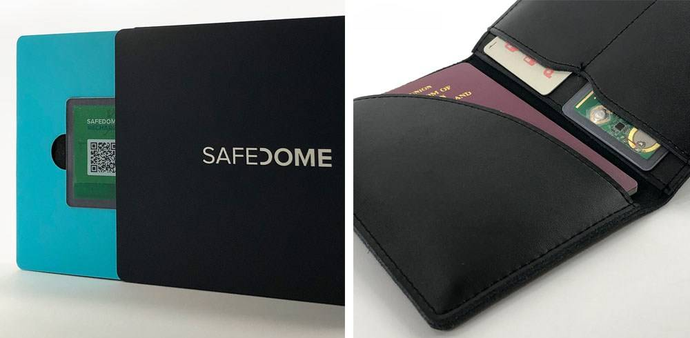 Safedome Tracking Card 6543857563 has 1.66mm thin