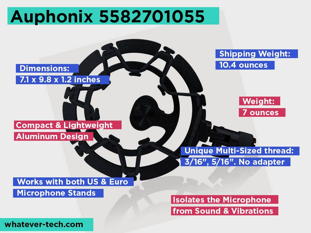 Auphonix 5582701055 Review, Pros and Cons.