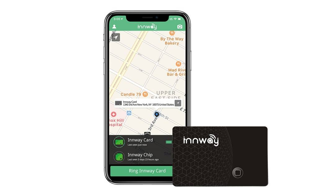 Innway Card has a range tops out 30 meters