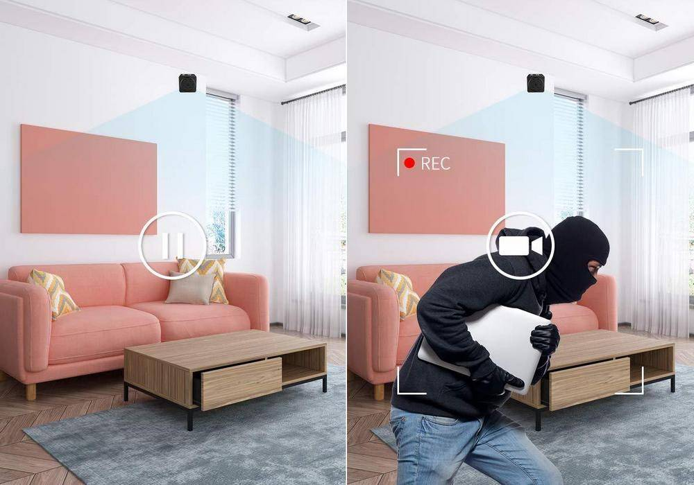 Joytrip Portable 8595776447 has a take picture function and motion detection
