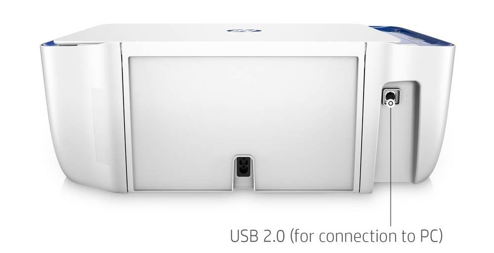 HP DeskJet 2622 has a standard Hi-Speed USB 2.0 connection