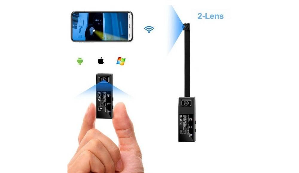 Cam Mall Wi-Fi Mini 8595775482 can work with or without Wi-Fi