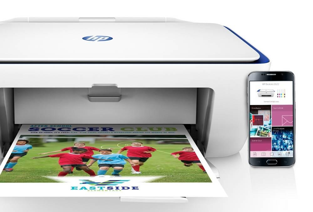 HP DeskJet 2622 has HP All-in-One Printer Remote app