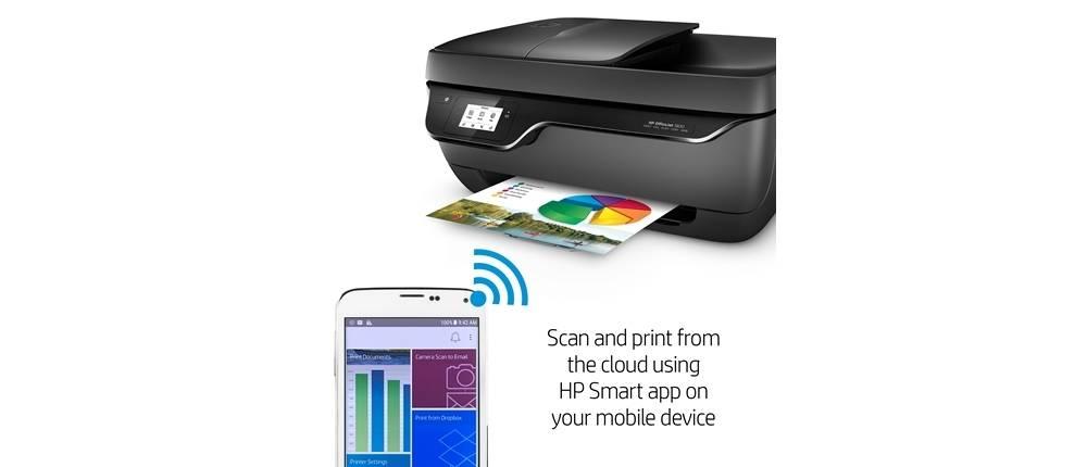HP OfficeJet 3830 has HP Smart app