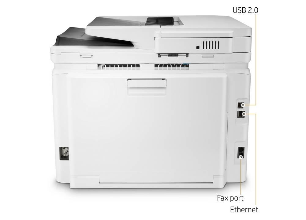HP LaserJet Pro M281fdw provides different connectivity options