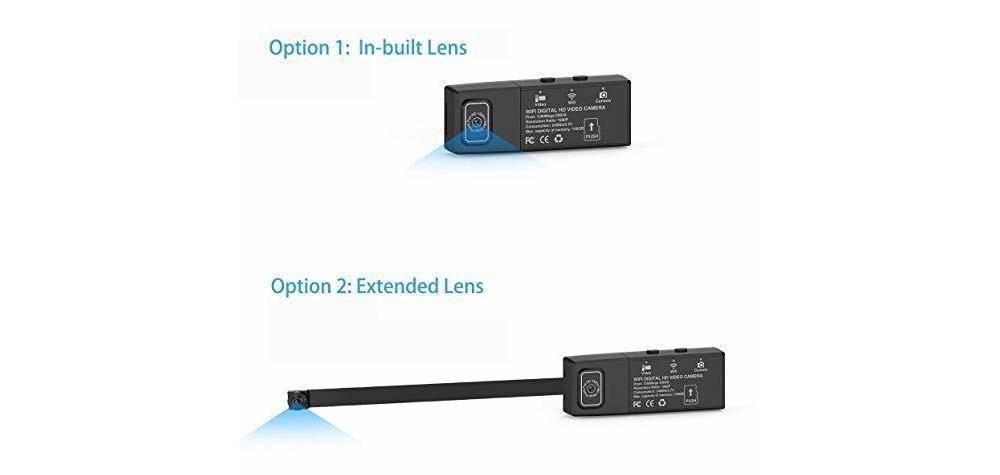 Cam Mall Wi-Fi Mini 8595775482 has two 1080p HD lenses