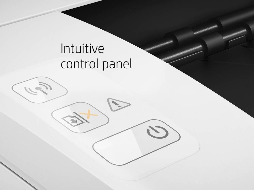 HP LaserJet Pro M15w has Intuitive control panel