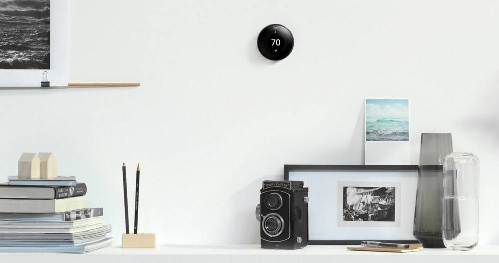 The Nest Learning thermostat looks more futuristic
