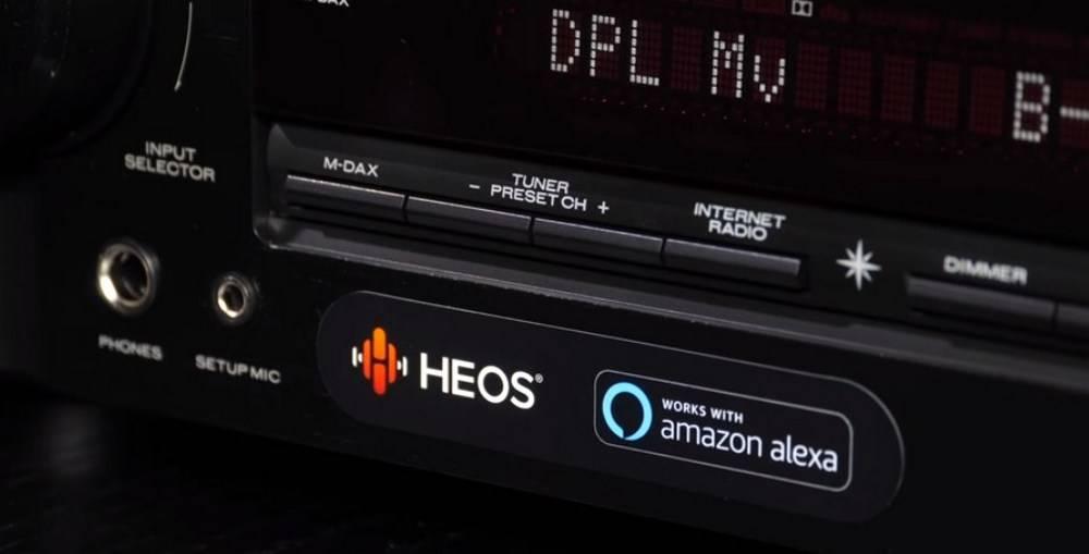 Marantz NR1510 works with Amazon Alexa