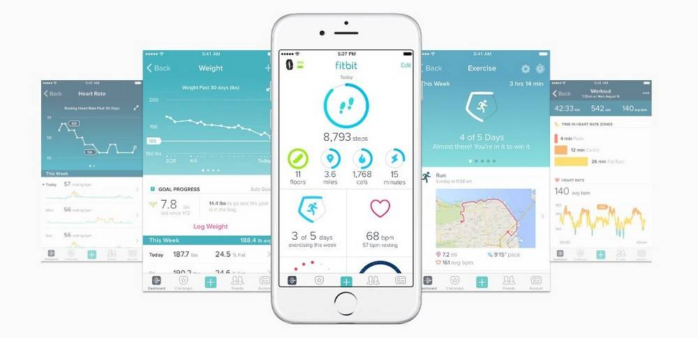 Sleep trackers come with the ability to connect and share information through an app
