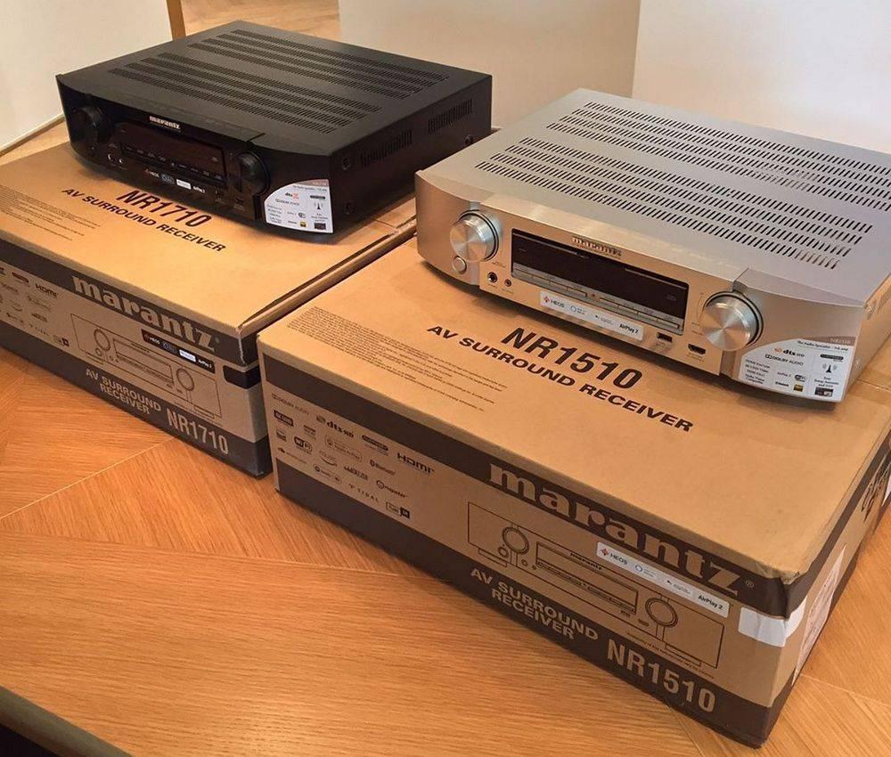 Marantz NR1710 UHD AV Receiver