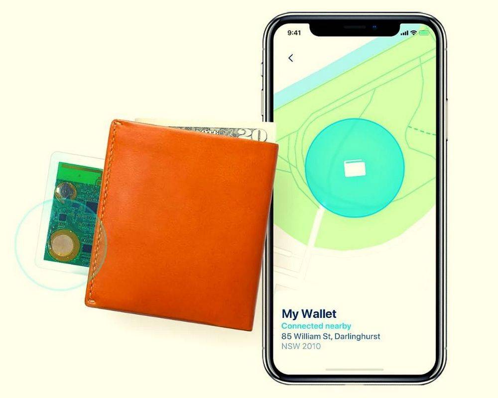 Safedome Recharge Bluetooth Tracking Card
