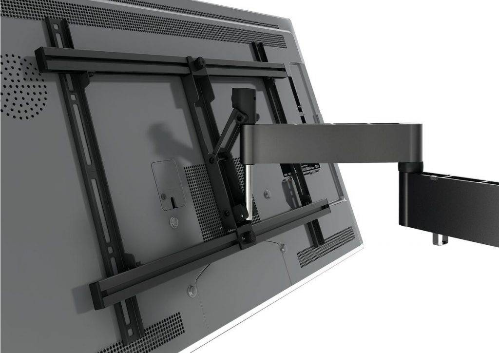 Vogels TV full motion wall mount: back view