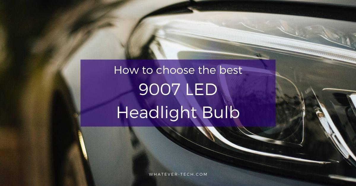 Best 9007 LED Headlight Bulb