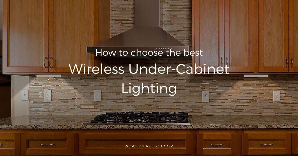 Best Wireless Under Cabinet Lighting, What Is The Best Kitchen Under Cabinet Lighting