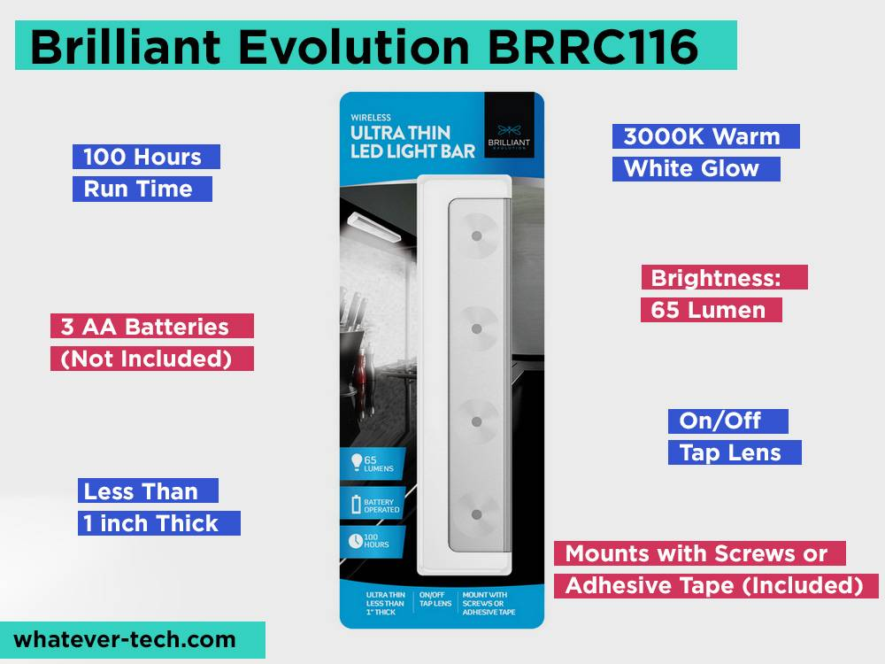 Brilliant Evolution BRRC116 Review, Pros and Cons