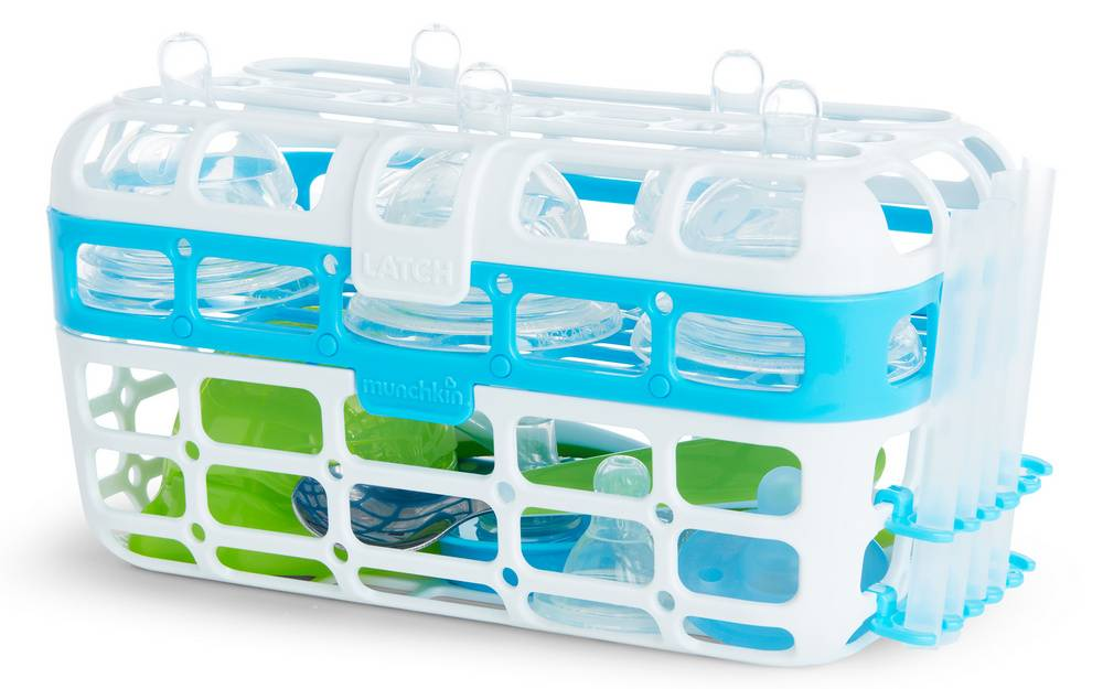 Dishwasher baskets have more than one tier
