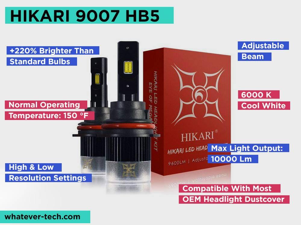 HIKARI 9007 HB5 Review, Pros and Cons