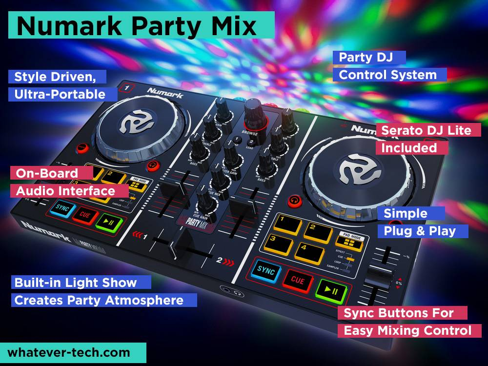 Numark Party Mix Review, Pros and Cons