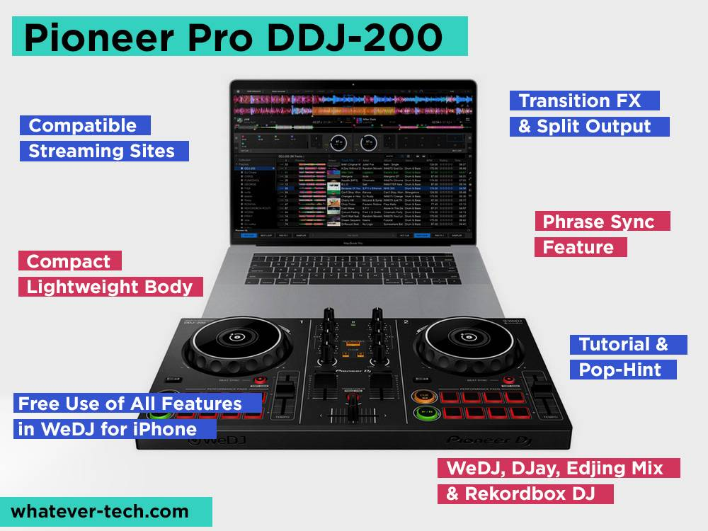 Pioneer Pro DDJ-200 Review, Pros and Cons