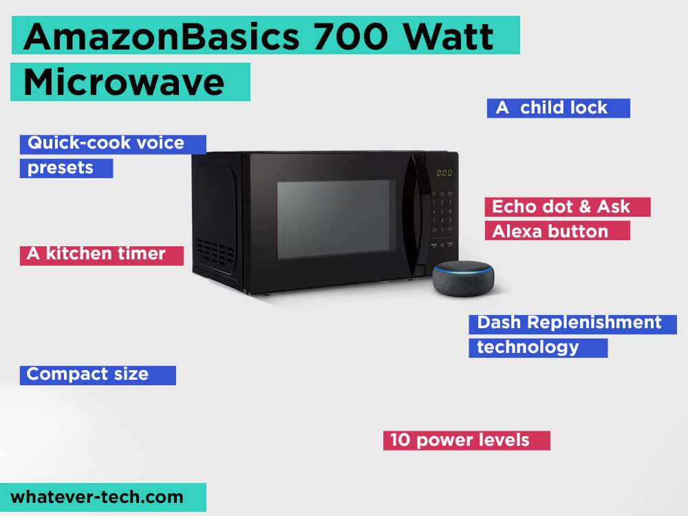 AmazonBasics 700 Watt Microwave Review, Pros and Cons