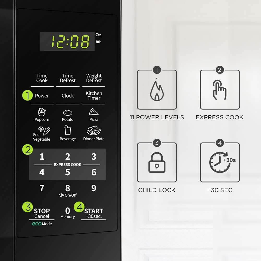 Best 700 watt Microwave Auto-cook functions