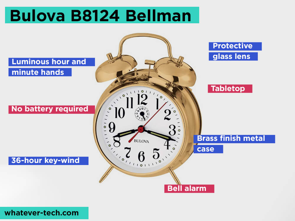 Bulova-B8124-Bellman Review, Pros and Cons