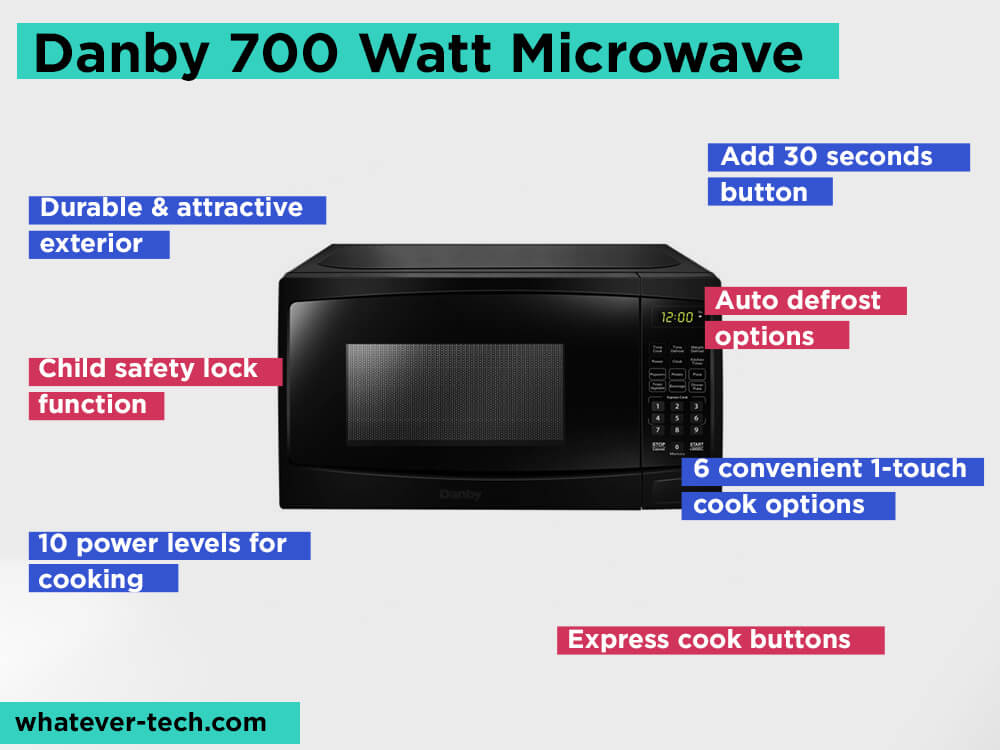Danby 700 Watt Microwave Review, Pros and Cons