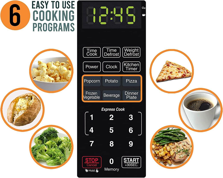 Farberware 700 Watt Microwave Review Cooking programs
