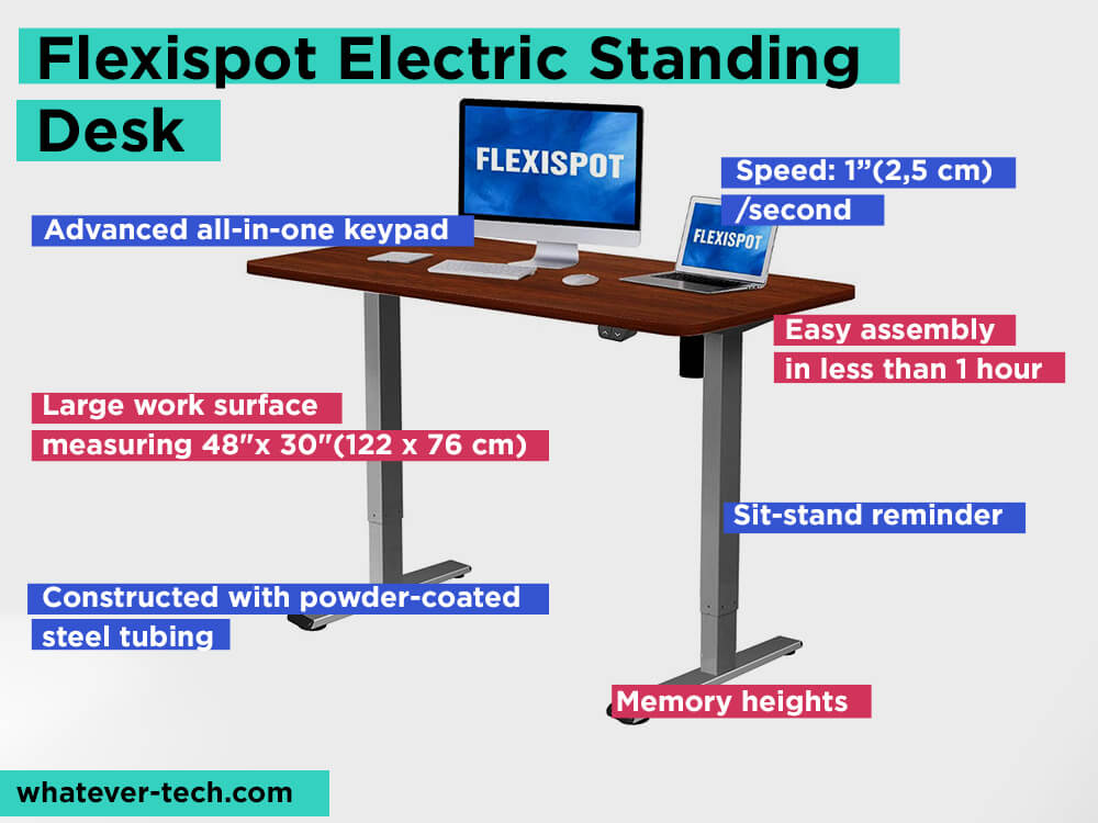 Flexispot Electric StandingDesk Review, Pros and Cons