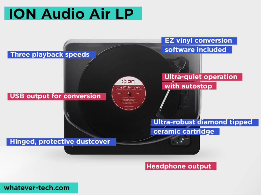 ION Audio Air LP Review, Pros and Cons