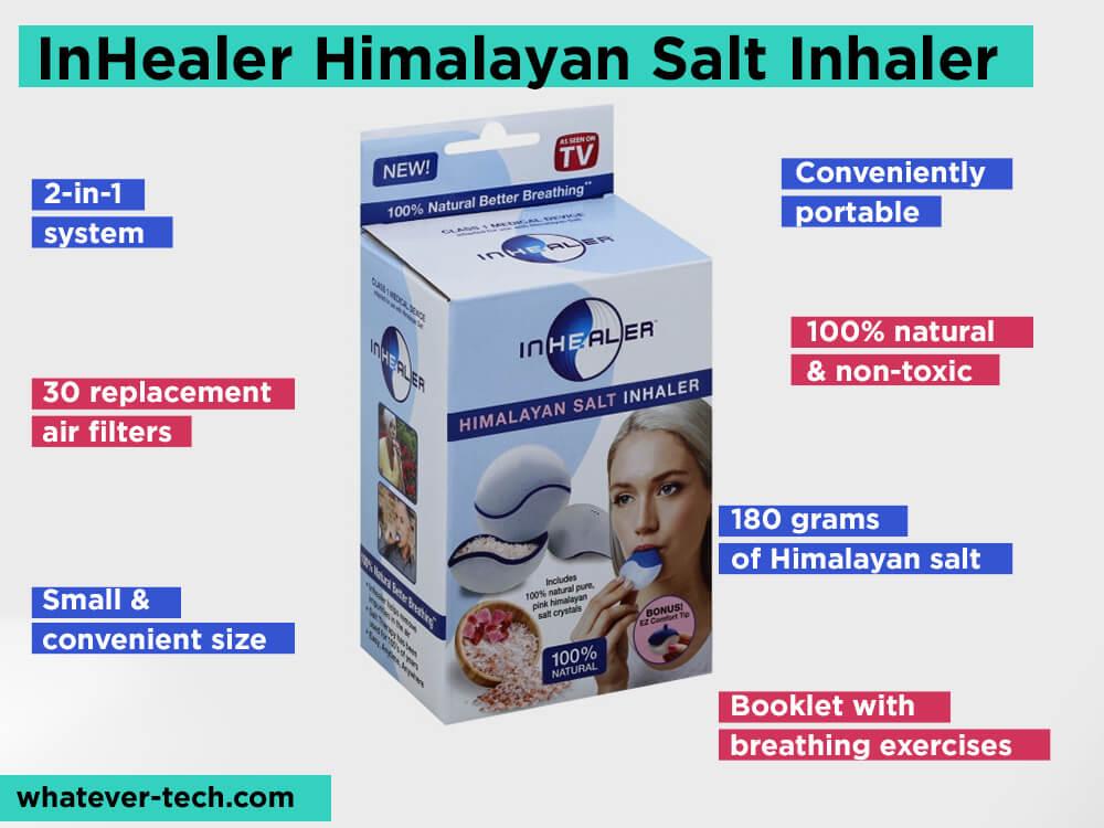InHealer Himalayan Salt Inhaler Review, Pros and Cons